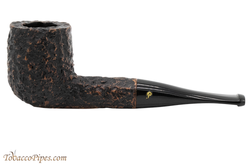 Peterson Aran 107 Bandless Rustic Tobacco Pipe