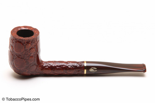 Savinelli Alligator Brown 140 Tobacco Pipe Left Side