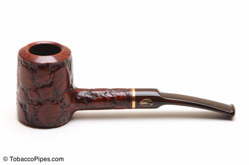 Savinelli Alligator Brown 310 Tobacco Pipe Left Side