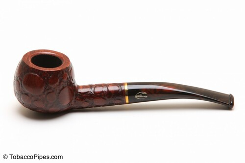 Savinelli Alligator Brown 315 Tobacco Pipe Left Side