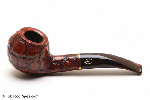 Savinelli Alligator Brown 673 Tobacco Pipe Left Side
