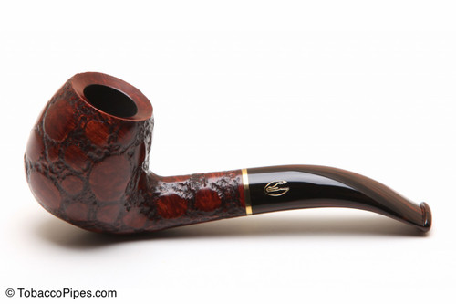 Savinelli Alligator Brown 677 Tobacco Pipe Left Side