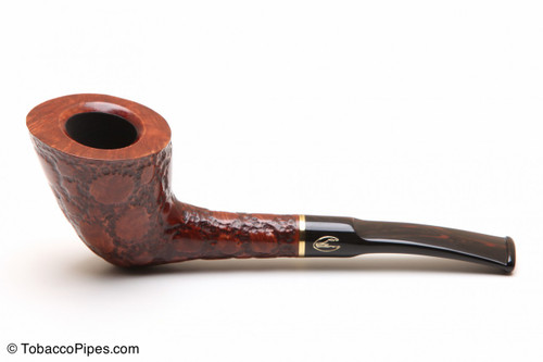 Savinelli Alligator Brown 904 Tobacco Pipe Left Side