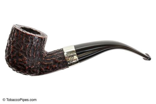 Peterson Donegal Rocky 01 Tobacco Pipe Fishtail Left Side