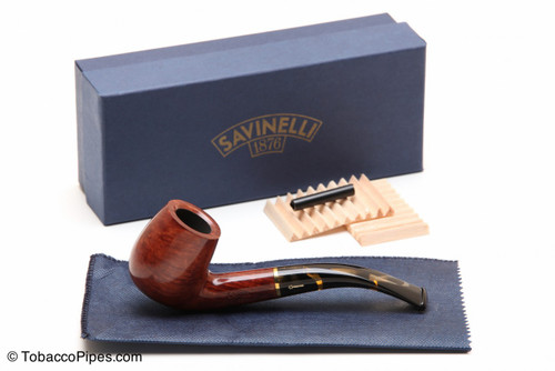 Savinelli Oscar Tiger 601 Tobacco Pipe - Smooth