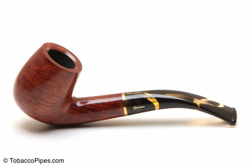 Savinelli Oscar Tiger 601 Tobacco Pipe - Smooth Left Side