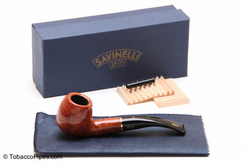 Savinelli Oscar Tiger 626 Tobacco Pipe - Smooth