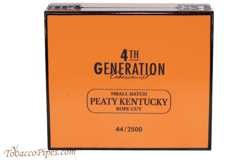 4TH Generation Small Batch Peaty Kentucky Rope Cut Pipe Tobacco Front