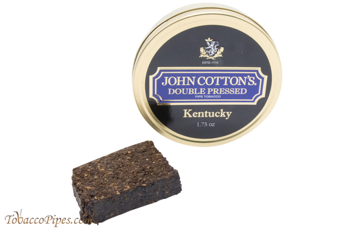John Cotton's Double Pressed Kentucky Pipe Tobacco