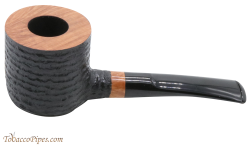 Joe Case Pot Rustic Tobacco Pipe - 9393