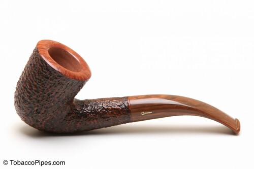 Savinelli Tundra Brownblast 611 EX Tobacco Pipe Left Side