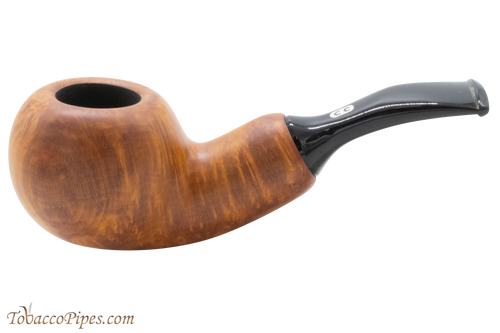 Chacom Reverse Calabash Orange Tobacco Pipe