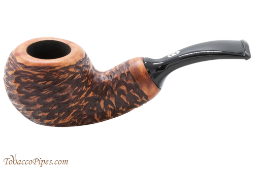 Chacom Reverse Calabash Rustic Tobacco Pipe