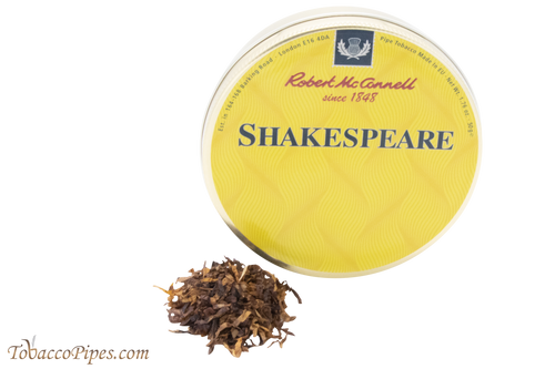 McConnell Shakespeare Pipe Tobacco