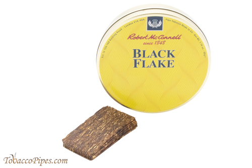 McConnell Black Flake Pipe Tobacco