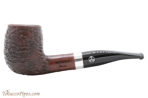 Rattray's Raven 122 Rustic Tobacco Pipe