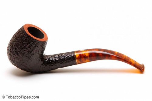 Savinelli Tortuga Rustic Briar 602 Tobacco Pipe Left Side