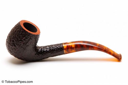 Savinelli Tortuga Rustic Briar 602 Tobacco Pipe Left Side