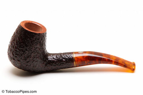 Savinelli Tortuga Rustic Briar 628 Tobacco Pipe Left Side
