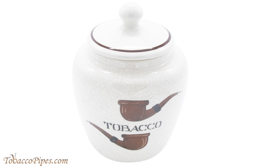 Savinelli Ceramic Tobacco Jar - Pipes