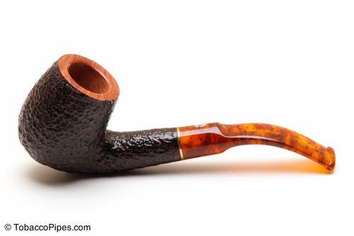 Savinelli Tortuga Rustic Briar 603 Tobacco Pipe Left Side