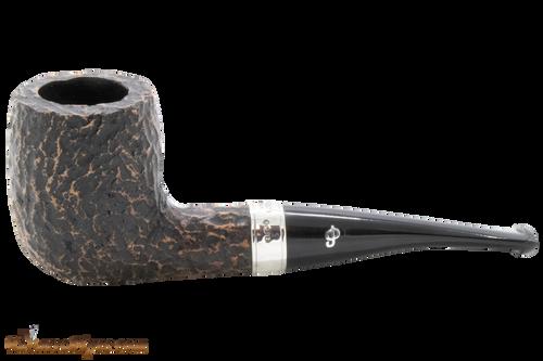 Peterson Short X105 Rustic Tobacco Pipe Fishtail