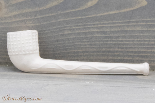 Old German Clay Pipe 44 White Finish
