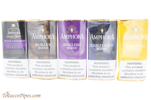 Amphora Sampler 5 Pack Pipe Tobacco
