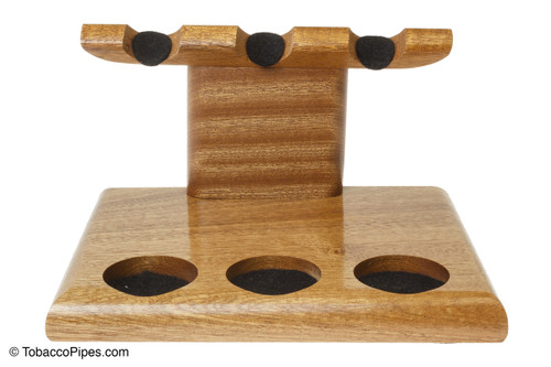 Neal Yarm Tilt Head 3 Pipe Stand Cherry Front