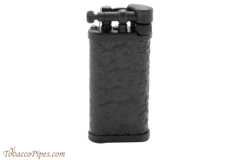 IM Corona Old Boy Arabesque Black Pipe Lighter