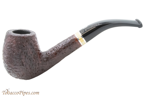 Savinelli New Oscar 670 KS Rustic Brown Tobacco Pipe