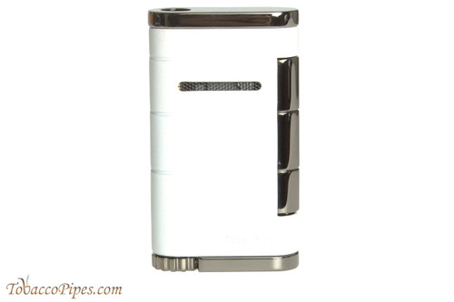 Xikar Allume Single Flame Cigar Lighter - White