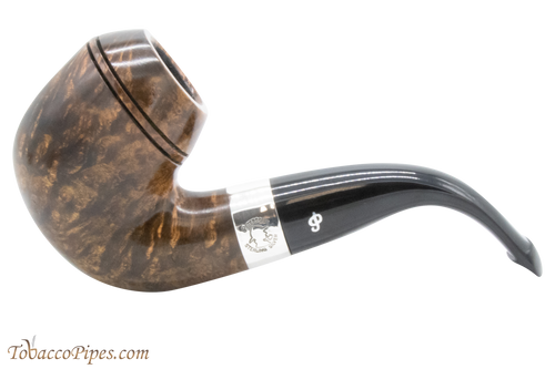 Peterson Sherlock Holmes Dark Smooth Baskerville Tobacco Pipe PLIP