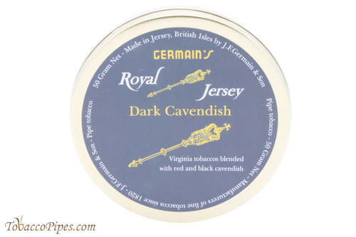 Germain's Royal Jersey Dark Cavendish Pipe Tobacco - 50 g