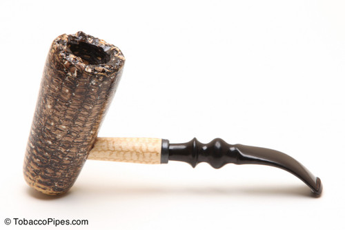 Missouri Meerschaum Freehand Corncob Tobacco Pipe Left Side