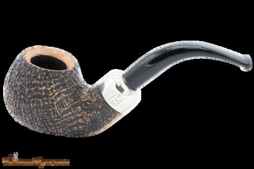 Peterson Arklow Sandblast XL02 Tobacco Pipe Fishtail