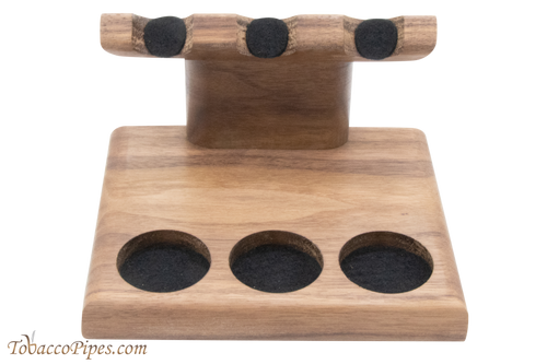 Neal Yarm Tilt Head 3 Pipe Stand Walnut