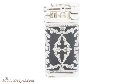 Sillems LEA Old Boy Black Double Sided Pipe Lighter