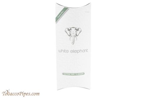 White Elephant Cotton Tapered Pipe Cleaners 100 Pack