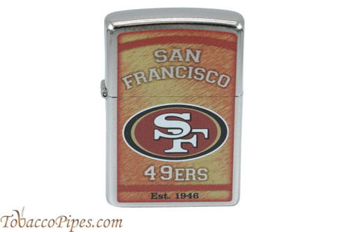 Zippo NFL San Francisco 49ers Lighter