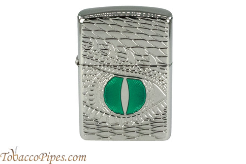 Zippo Dragon Armor High Polish Dragon Eye Lighter