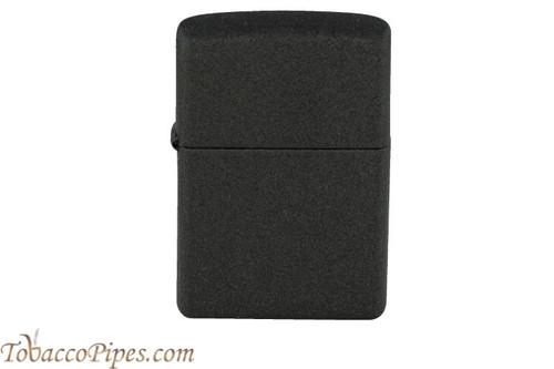 Zippo Black Crackle Lighter