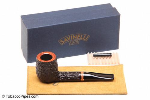 Savinelli Porto Cervo Rustic 129 Tobacco Pipe