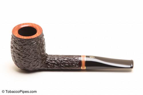 Savinelli Porto Cervo Rustic 129 Tobacco Pipe Left Side
