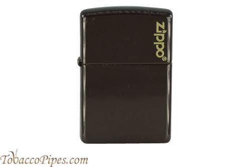 Zippo Brown Zippo Logo Lighter