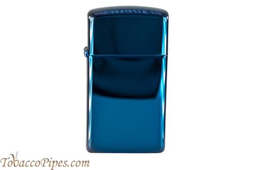 Zippo Slim High Polish Sapphire Lighter