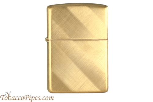 Zippo Classic Brass Diagonal Weave Lighter