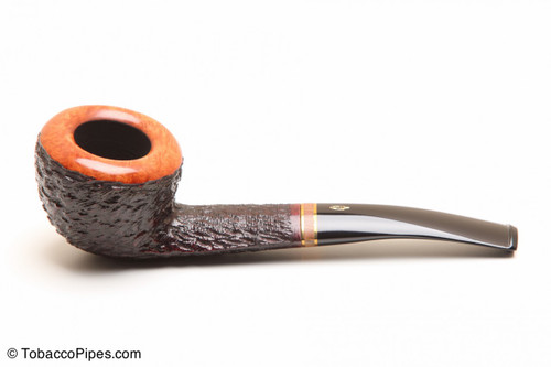 Savinelli Porto Cervo Rustic 316 KS Tobacco Pipe Left Side