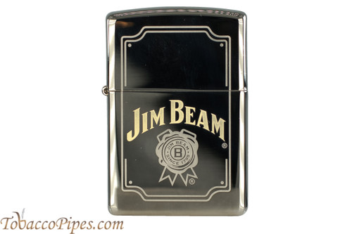 Zippo Spirits Black Ice Jim Beam Lighter