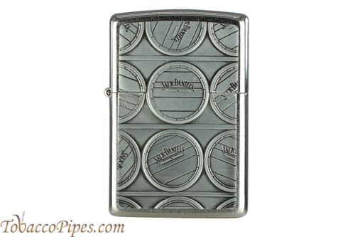 Zippo Spirits Jack Daniels Cask Chrome Lighter